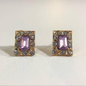 3/$12💛Mini Rhinestone Stud Earrings